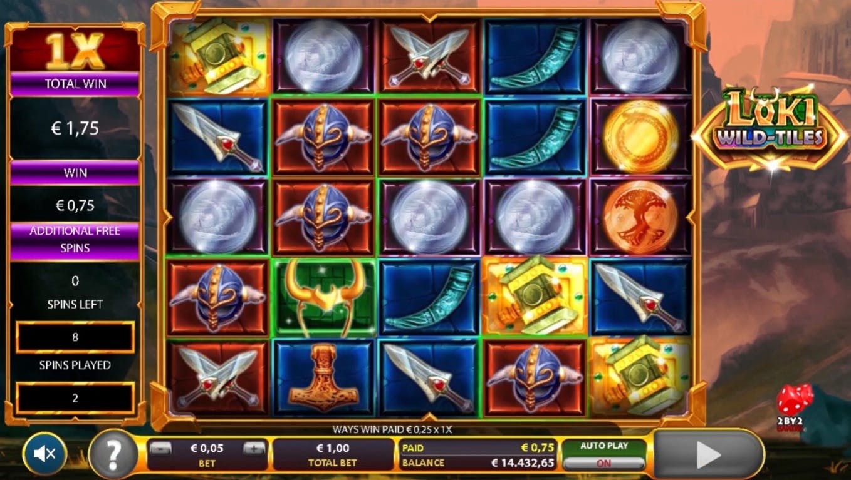 Loki Wild Tiles Game Review
