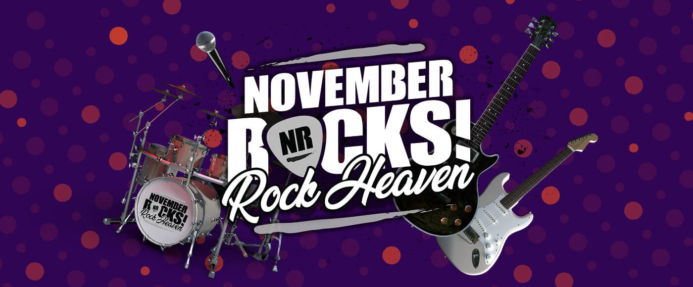 Feast Your Eyes on the Rock Heaven Campaign Prize
