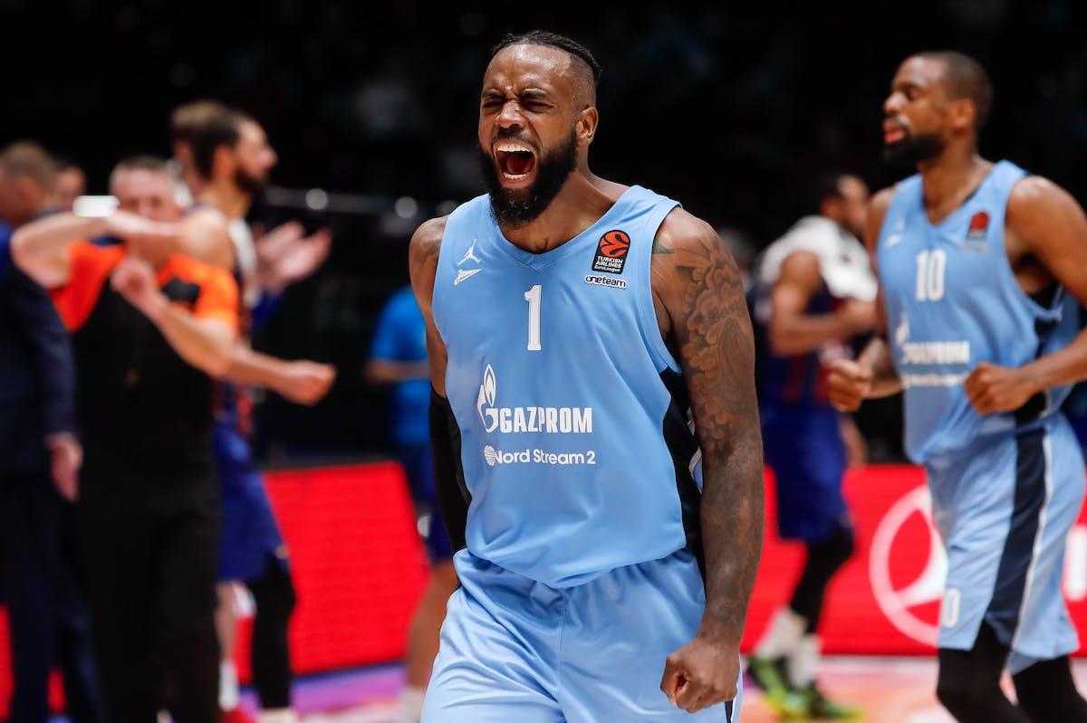 Basketball Poythress, Rivers Lead Zenit in Win Article - Sportsbet.io