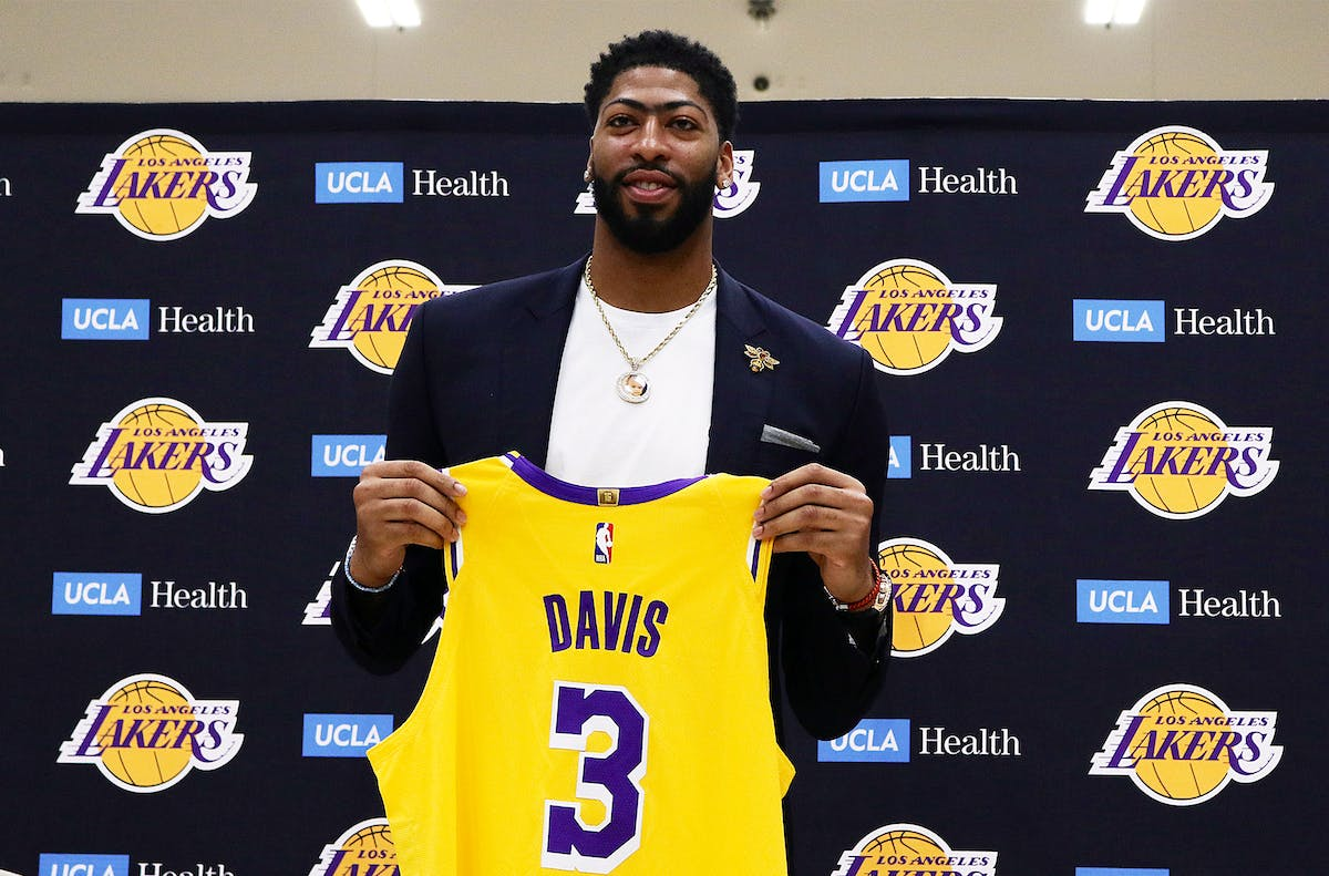 Basketball Anthony Davis says he is chasing missing championship