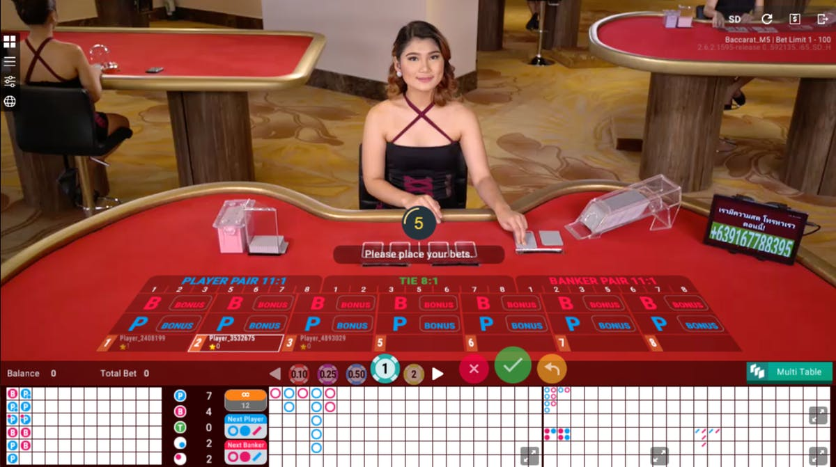 Image result for Baccarat minimum 10 baht girls
