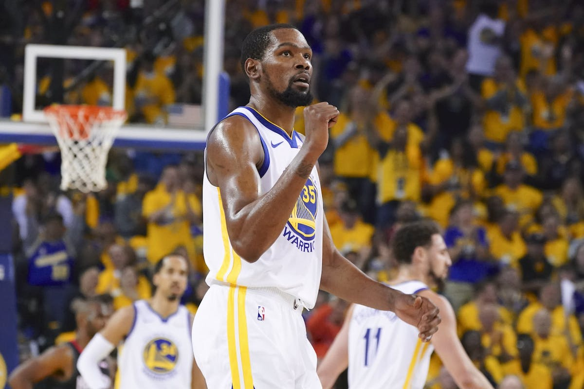 36900da21395 Warriors draw first blood against RocketsVery few teams can stop James  Harden from scoring and dominating