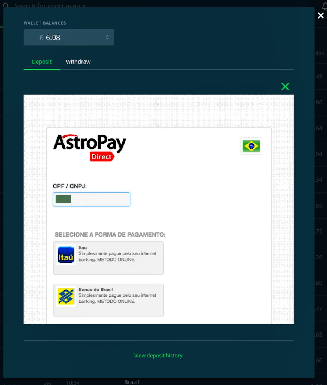 Payment Options - Sportsbet io