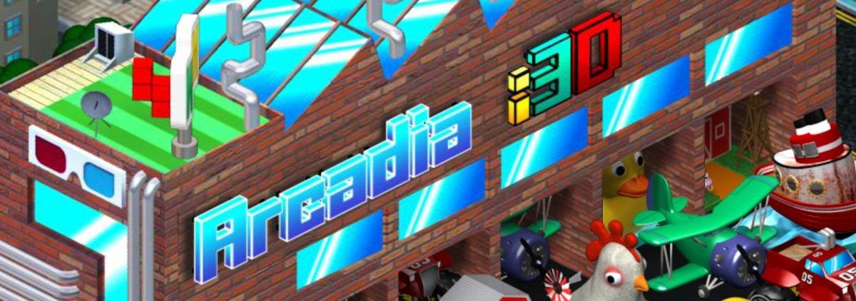 Get futuristic winnings with Arcadia i3D
