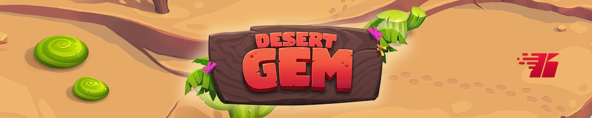 Scour the desert for riches in Desert Gem