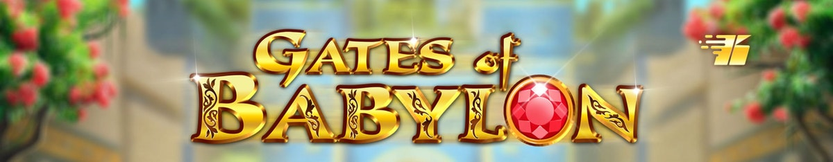 Let the gates of Babylon flood open with great fortune