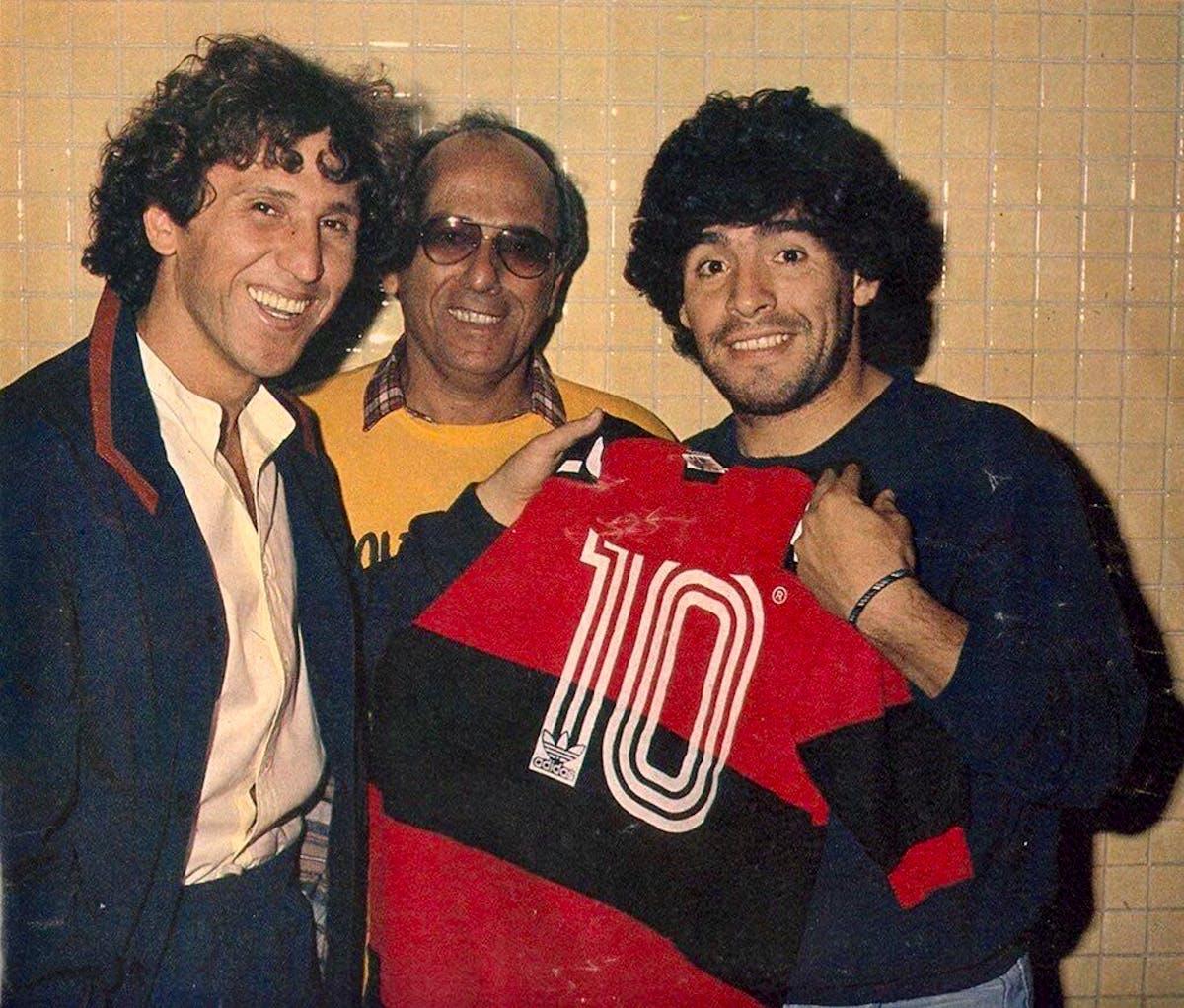 Futebol Maradona foi desejo do Flamengo em 1991, mas a base salvou a  temporada Artigo - Sportsbet.io